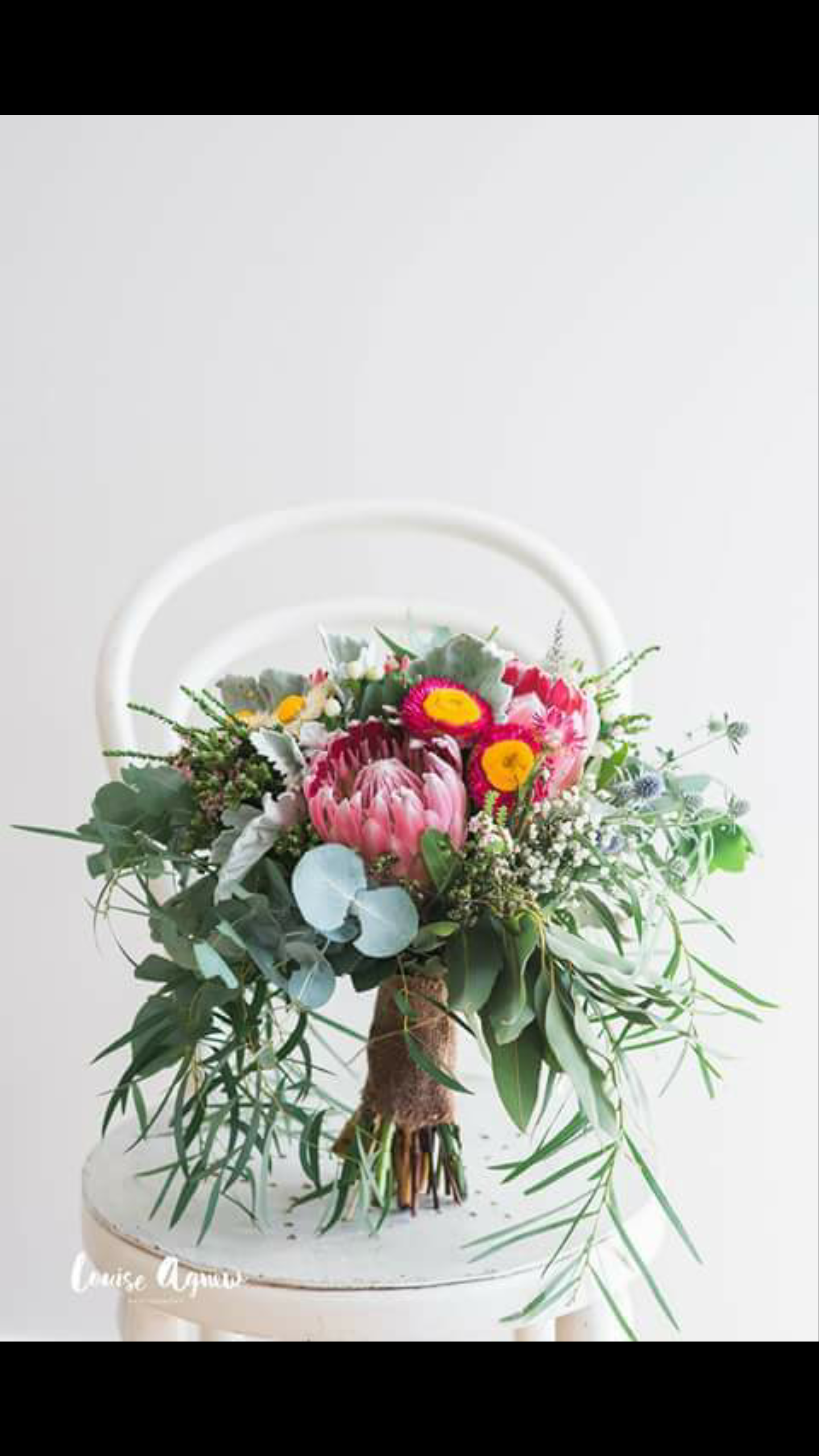 Bouquet by Margie our Florist. Photo by Louise Agnew Photography